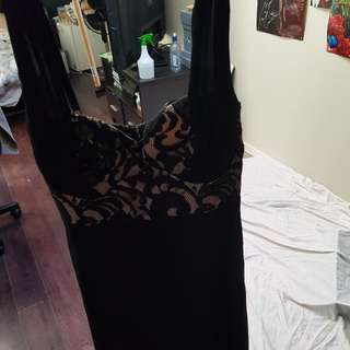 Full Length Chiffon Dress