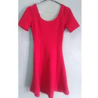 HnM Red Dress