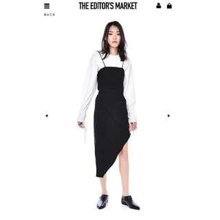 TEM Maeko slope-hem Dress