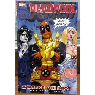 Marvel Comics Deadpool x-men (x marks the spot) comic book