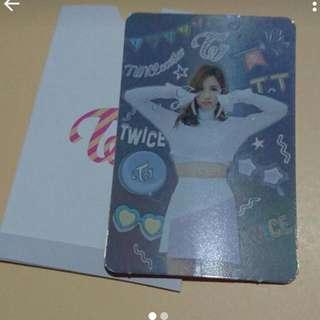 Mina TT Card. (Sold)