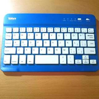 Valore Portable Bluetooth Mini Keyboard BTK380 (Blue)
