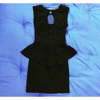 Preloved Peplum Dress