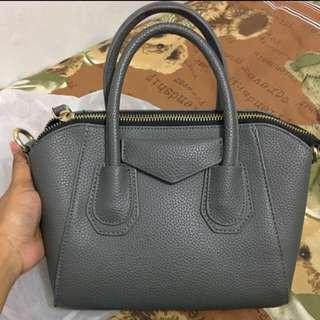 Grey Sling Bag