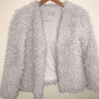 RENTING! Fluffy Jacket Size Small