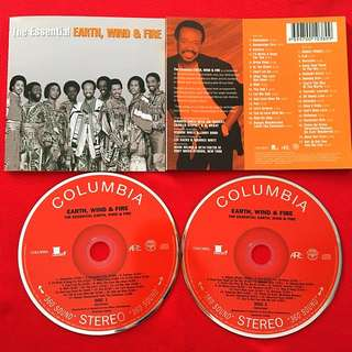 🇺🇸The Essential- Earth,wind&Fire(2Discs CD Set)