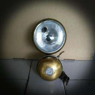 LAMPU DAN LOCENG BASIKAL