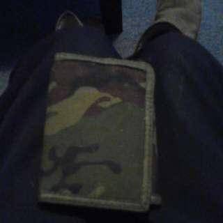 Men Army Wallet