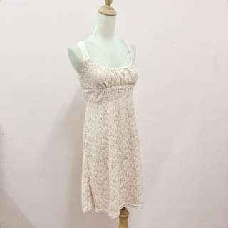 (Reduce!)Pink Paisley Lace Dress