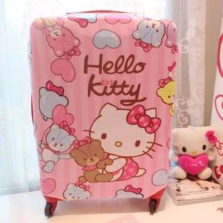 (驚喜快閃價$55!喼套!)Hello Kitty Luggage Cover