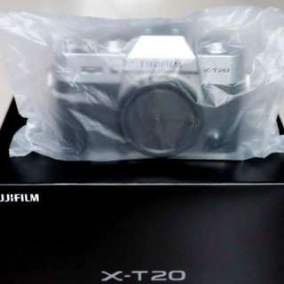 Brand New Fujifilm X-T20 Body Only
