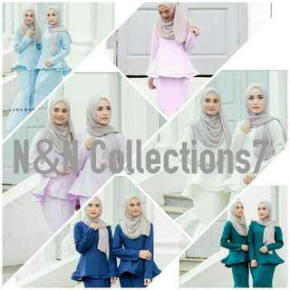 Raya Collection -  Pastel Edition
