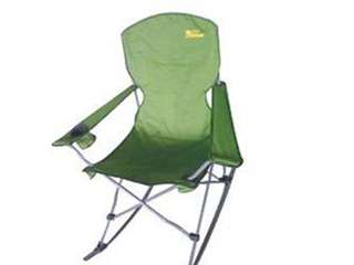 🚚 Portable folding rocking chair outdoor elderly casual beach picnic camping fishing line up Mayday concert chair treasure dre