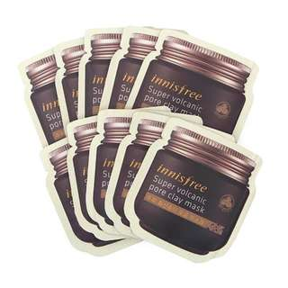 Innisfree Super Volcanic Pore Clay Mask 4mL (Sample Sachet)