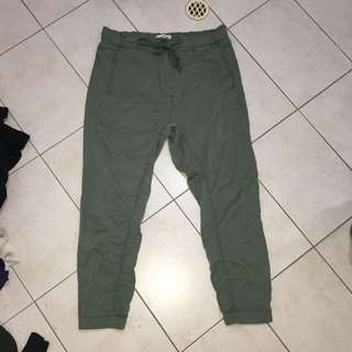 Green Country Road Pants