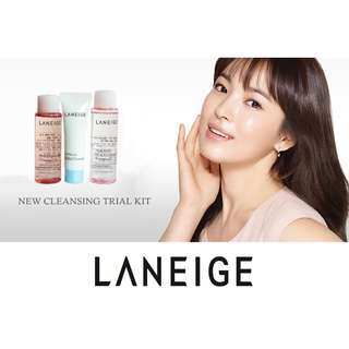 Laneige New Cleansing Trial Kit (3 Items)