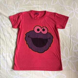 (Reduce!)Elmo Vintage Pink Baby Tee