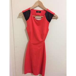 • Backless Dress • Size 8 •