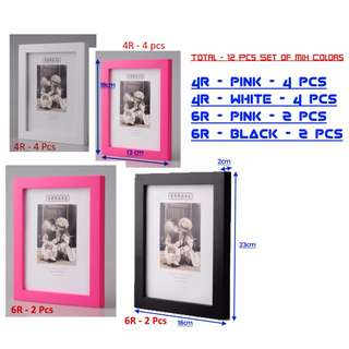 SELLING BELOW COST!!  FREE DELIVERY!! - DEFECT WALL PHOTO FRAMES + 2 FREE DECAL (NOW $10)