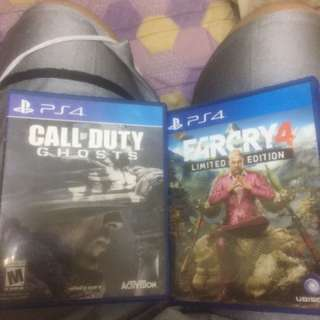 Far Cry 4 And Cod Ghost