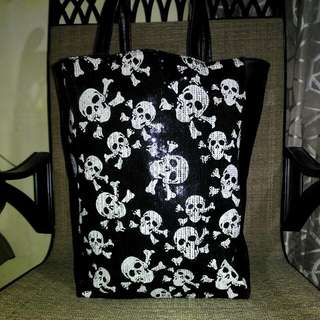 (Bday Sale)Original Accessorize Skull Tote
