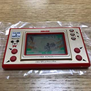 Nintendo Game And Watch Widescreen Mickey Mouse 1981 MC-25 RARE