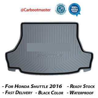 Honda Shuttle Boot Tray - 3D High quality, durable, waterproof and odorless.