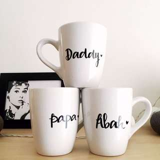 Father's Day Special Customised / personalised mugs