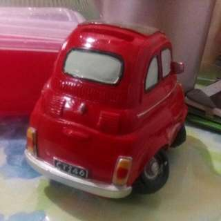 Red Car Coin Bank