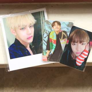 Bts Taehyung Photocards