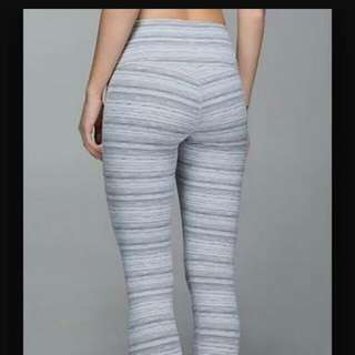 Lululemon Cyber White High Times