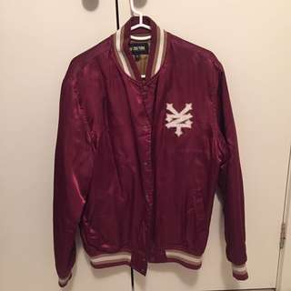 Zoo York Satin Bomber Jacket
