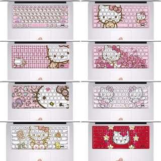 PO Hello Kitty Keyboard Decal Sticker For Macbook