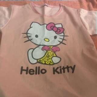 Hello kitty oversized tshirt