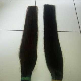 hair extension 100% rambut asli