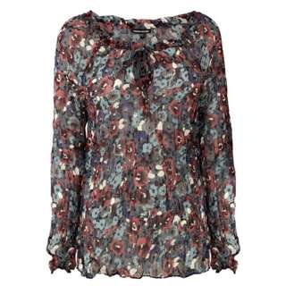 NEW Warehouse Watercolour Floral Top
