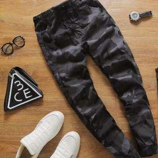 Camo Design Pants