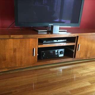 Suite Of Furniture - TV Unit,  Side + Coffee Table