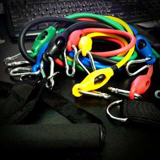 Resistance Bands , Weights , Home Gym