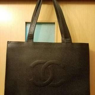 Chanel Vintage Shopping Bag