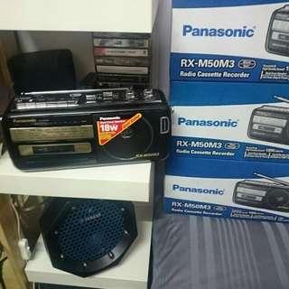 Panasonic Radio Cassette Player/Recorder