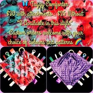 Tie Dye Taggy Comforter