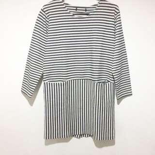 Korean Style Loose Shift Dress