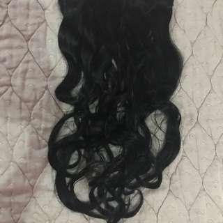 Clip On Hair Extensions - Dark Brown