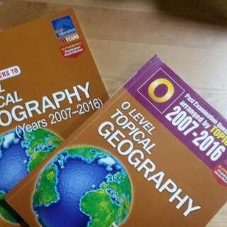 O Level Topical Geography ( 2007-2016)