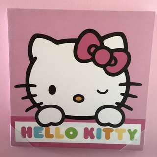 Authentic Sanrio Hello Kitty Canvas Prints Lot
