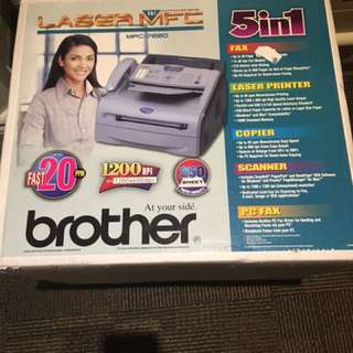 Brother Laser Printer, Fax, Pc Fax, Scanner