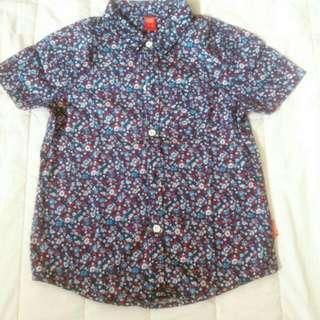 COOL KIDS Floral Shirt
