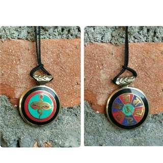 Tibetan Buddha Eyes Necklace
