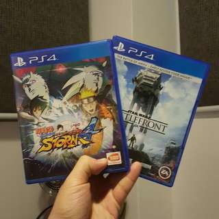 Ps4 Game Naruto 4 & Battlefront